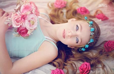 צילום עם פרחים ובוקה פרחים