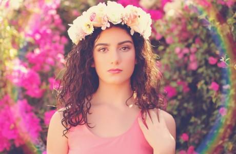 צילומים בפרחים צבעוניים