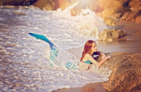 צילומי mermaid לבת מצווה