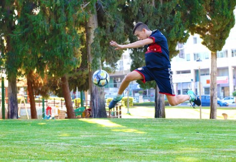 בר מצווה שחקן כדורגל