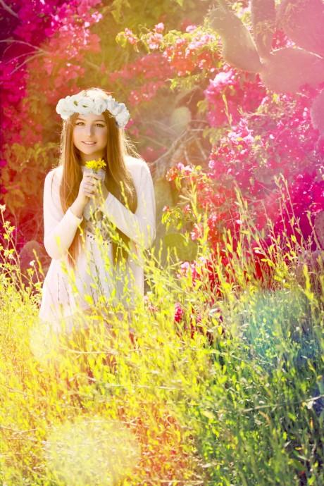 בת מצווה ילדת הפרחים