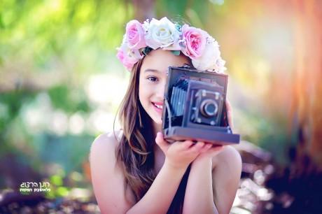 צילומים לגיל 12 בטבע